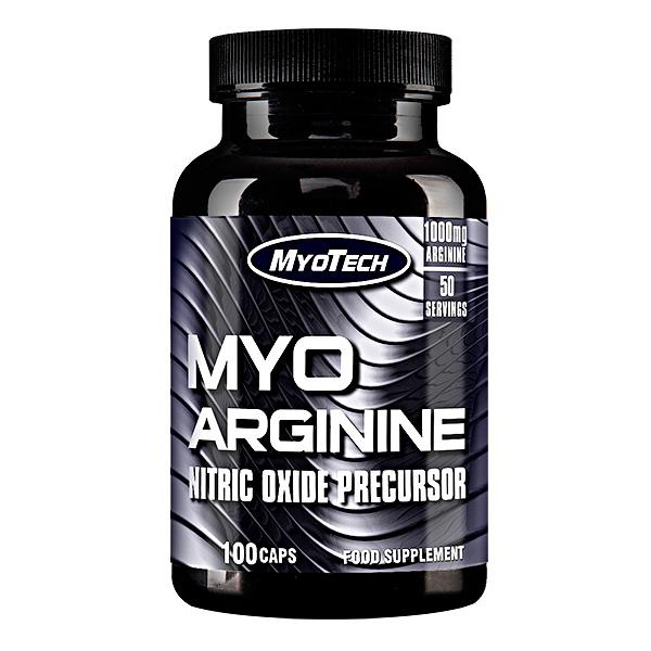Comanda L-arginina Online - MYO Arginine - 100 capsule