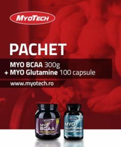 Myote BCAA si Glutamina Reducere