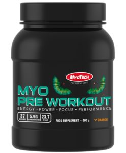 myo preworkout 300g